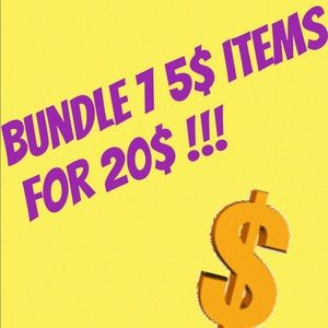 Other - 7 5$ items for 20 dollars!!
